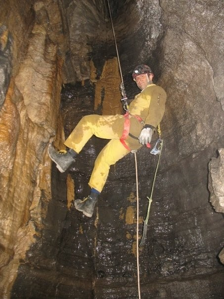 Caving somewhere in upstate NY