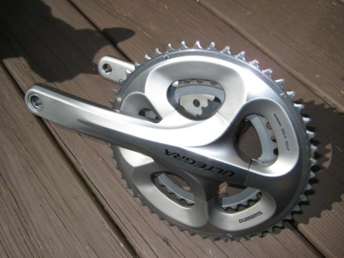 I just purchased this crank and its going...