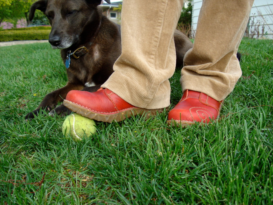 Sadie, Red Clogs