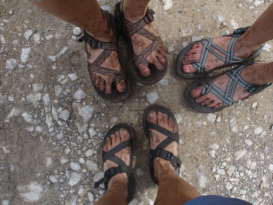 Chacos:  Oh the places you'll go