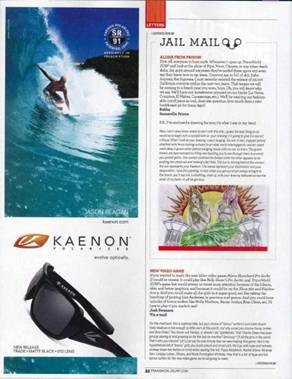Transworld Surf PR on TRADE - check it out