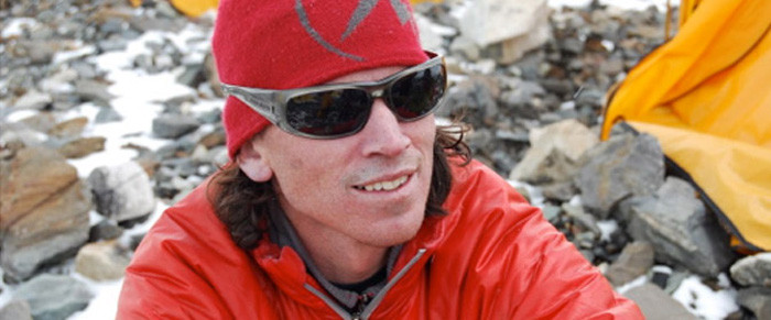 Adrian Ballinger from Alepenglow Expeditions wears Kaenon