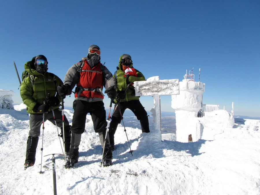 Two Neutrinos conquer Mt Washington