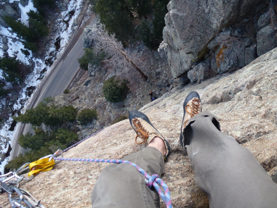 most comfortable climbing shoe