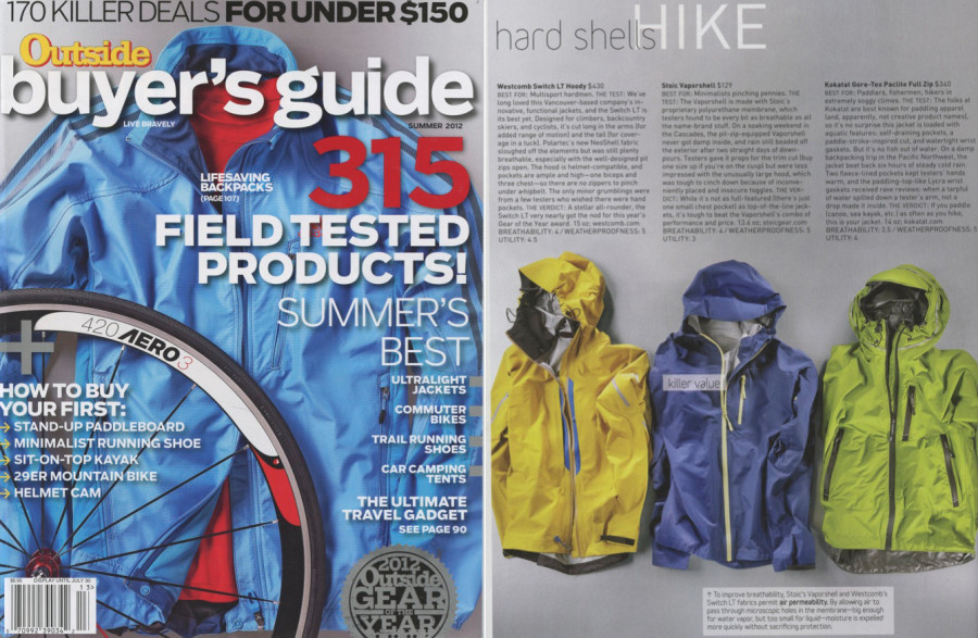 Outside Buyer's Guide - Spring 2012