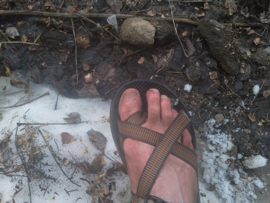 Already broken Chacos vs Snow