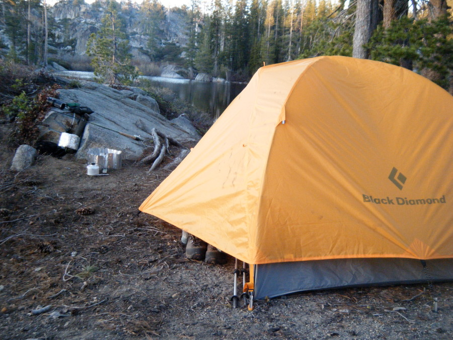 HIgh Sierra backpacking