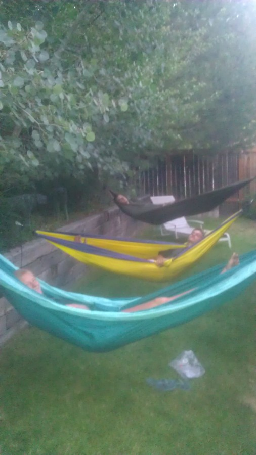 Hammocking!