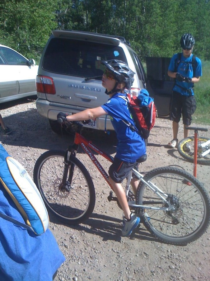 great for mtn. biking kids too!