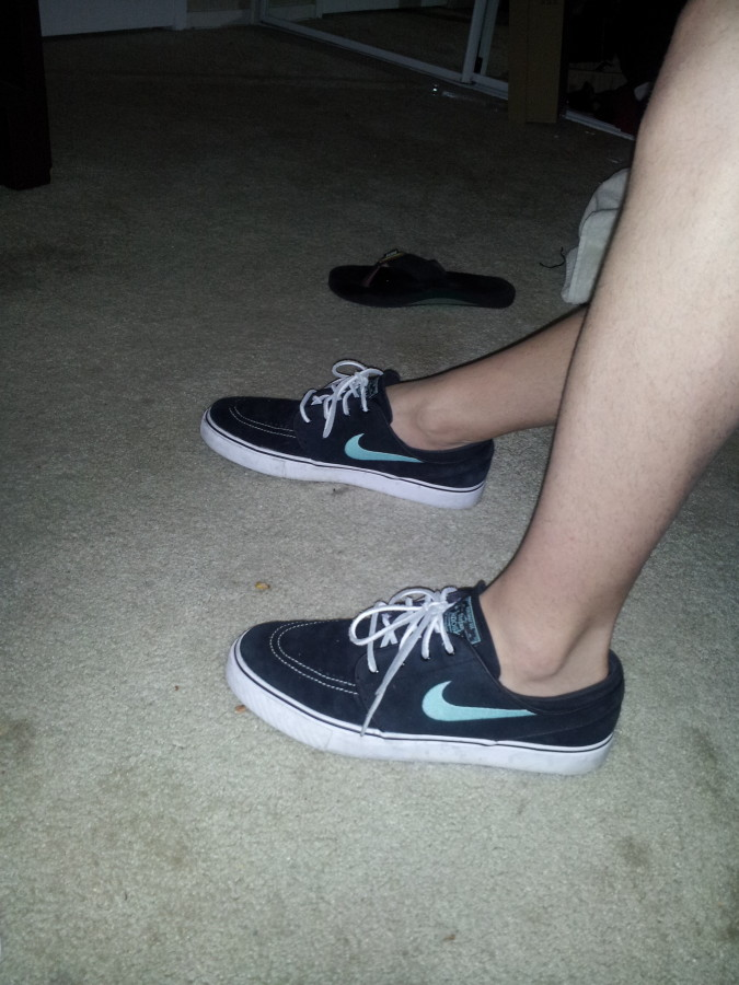 Nike SB with stance invisible sock