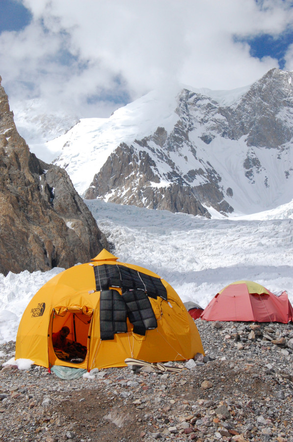 TNF Dome tent at BC- Gasherbrum II Karakorum Pakistan & The North Face 2-Meter Dome Tent: 8-Person 4-Season | Backcountry.com