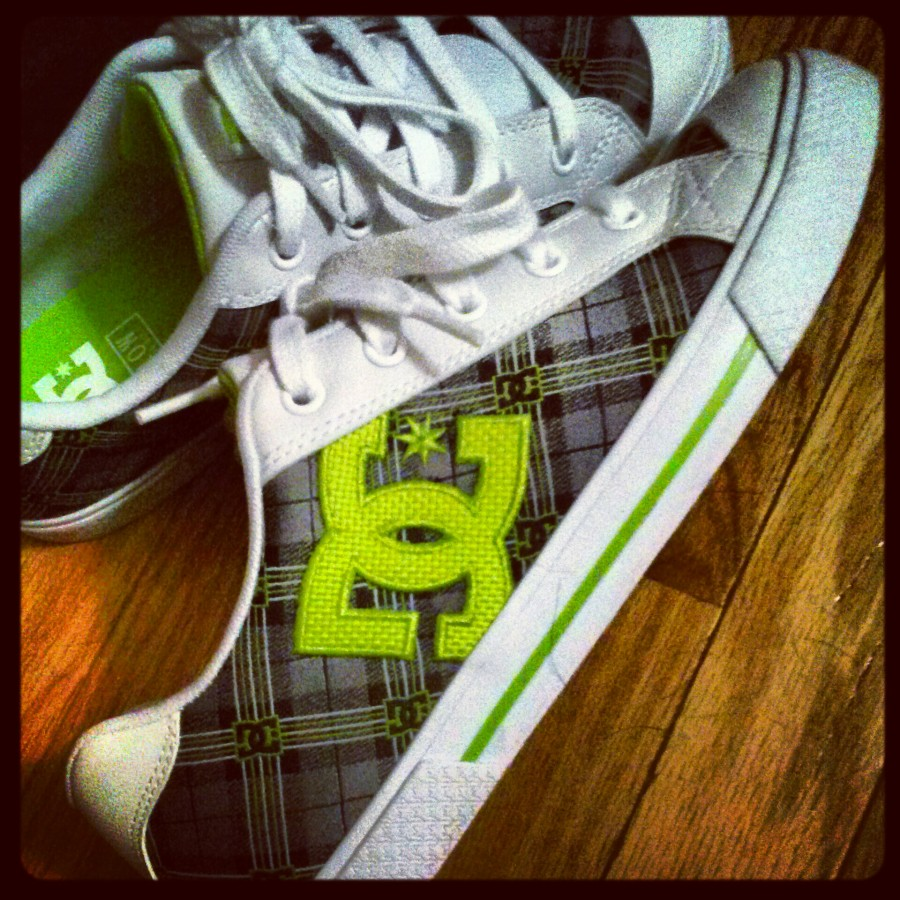Lime Chelsea DC Shoes