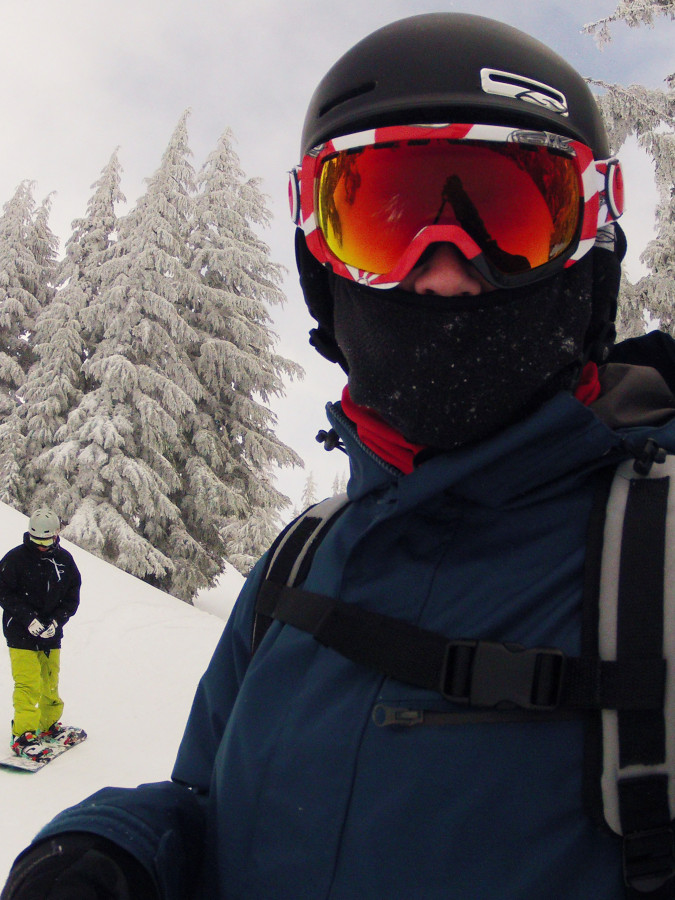 Powder day at Timberline