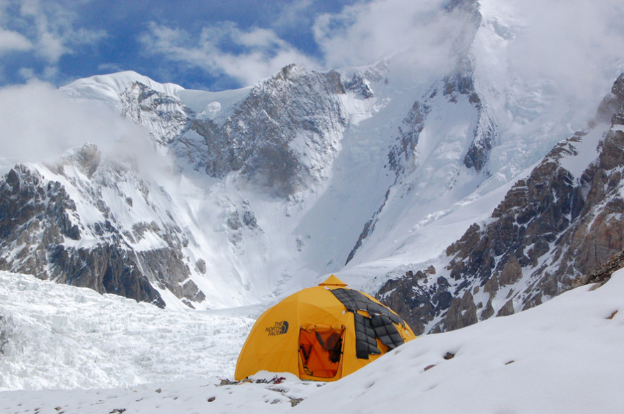 TNF dome at BC Gasherbrum II in Pakistan & The North Face 2-Meter Dome Tent: 8-Person 4-Season | Backcountry.com