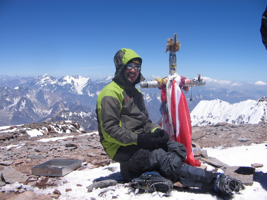 Summit of Aconcagua 6962 mts