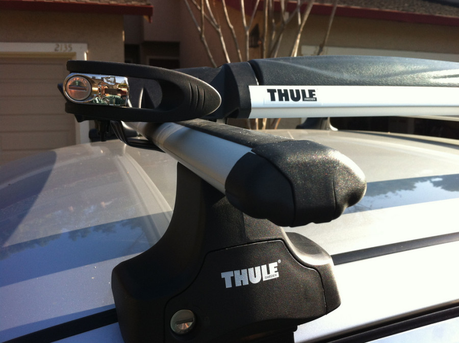 With Thule Rapid Aero