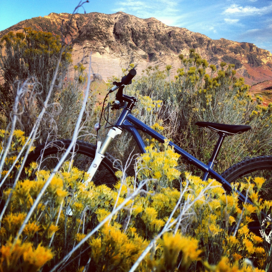 Riding in Provo Canyon Today