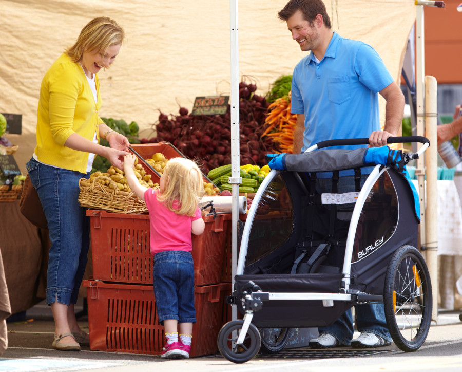 Encore w/ 1-Wheel Stroller