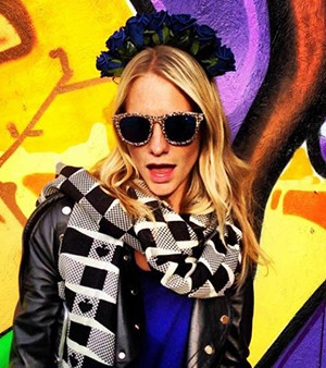 Poppy Delevingne wearing the Noddy