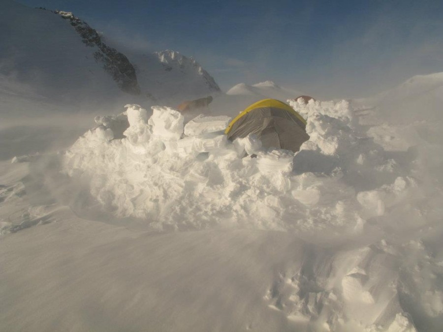 Its da bomb! & Black Diamond Bombshelter Tent: 4-Person 4-Season | Backcountry.com