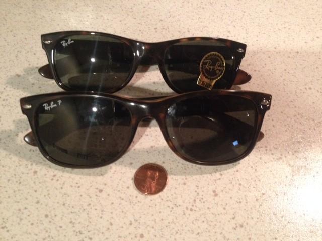ray ban wayfarer sunglasses 52mm vs 55mm