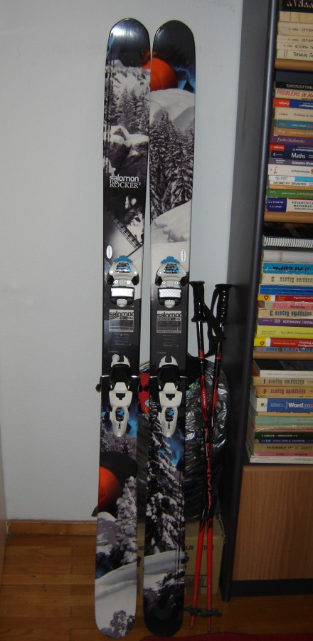 The Best Powder ski For Me!!!!