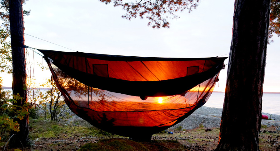 Sky Tent 2 At Sunrise