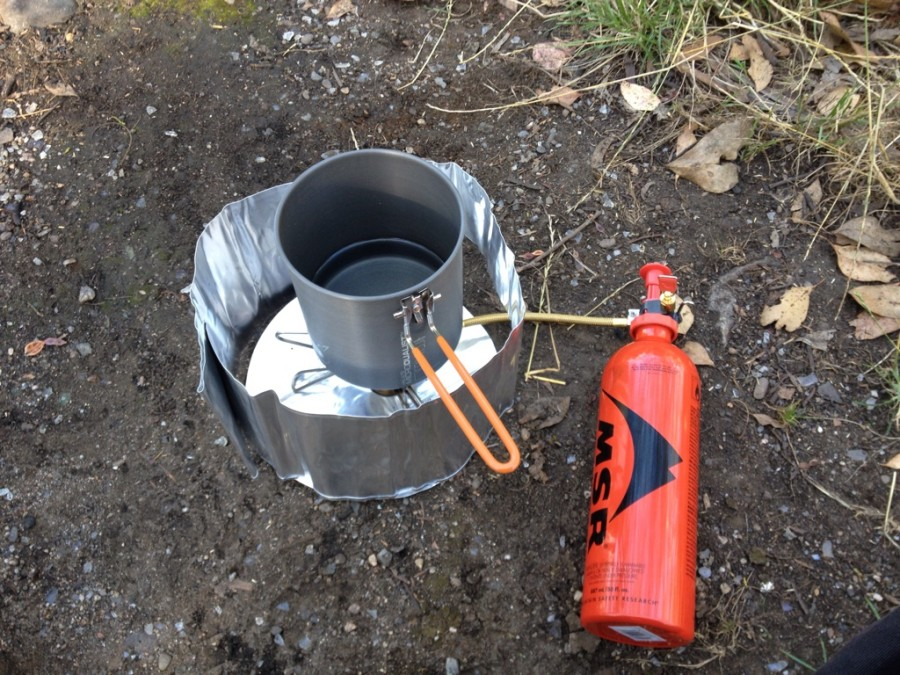 A Great Stove For Hikers