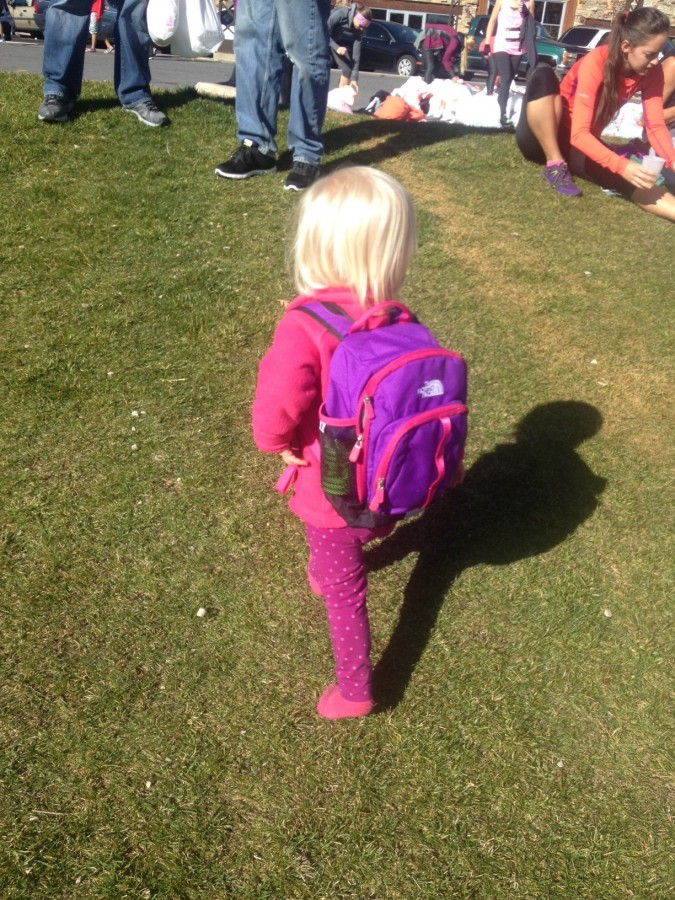 Sprout Backpack In Action