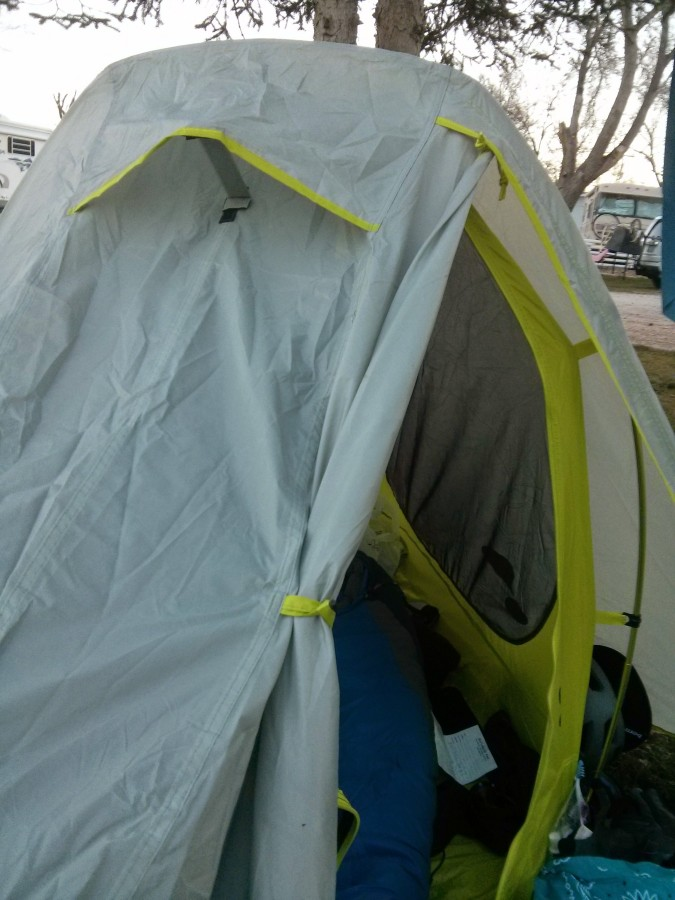 And a little vent! & Eureka Spitfire Tent: 1-Person 3-Season | Backcountry.com