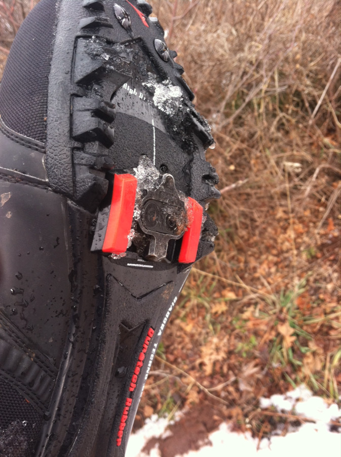 Great cold weather clipless mtn shoe