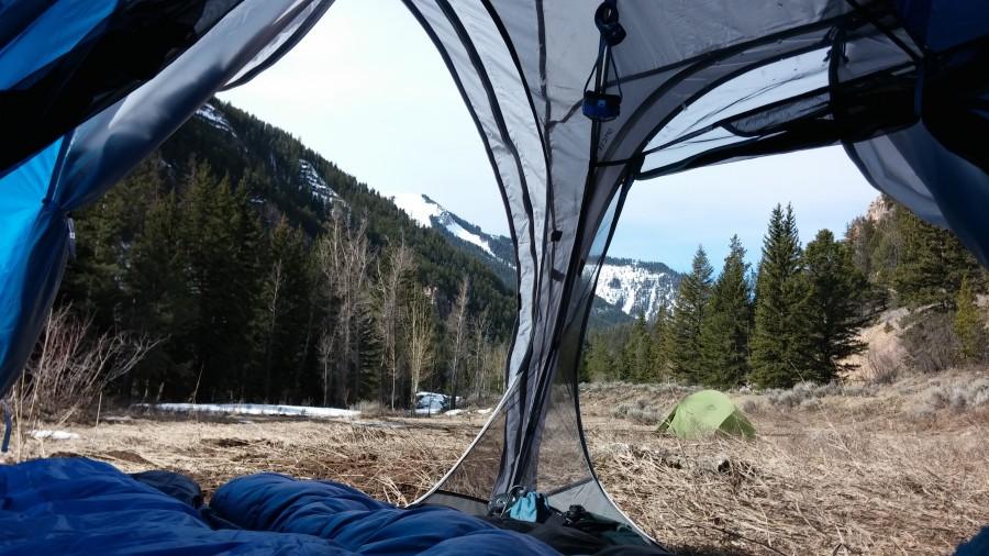 Optic 3.5 in Jackson WY & Mountain Hardwear Optic 3.5 Tent: 3-Person 3-Season | Steep u0026 Cheap
