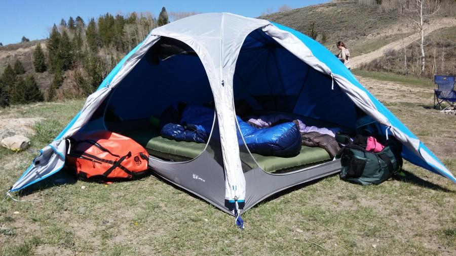 Optic 3.5 Josh Hirschmann & Mountain Hardwear Optic 3.5 Tent: 3-Person 3-Season | Steep u0026 Cheap