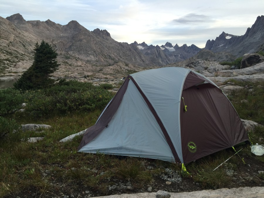 Super sweet backpacking tent