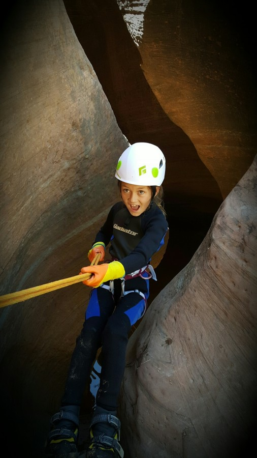 Canyoneering with the Wiz
