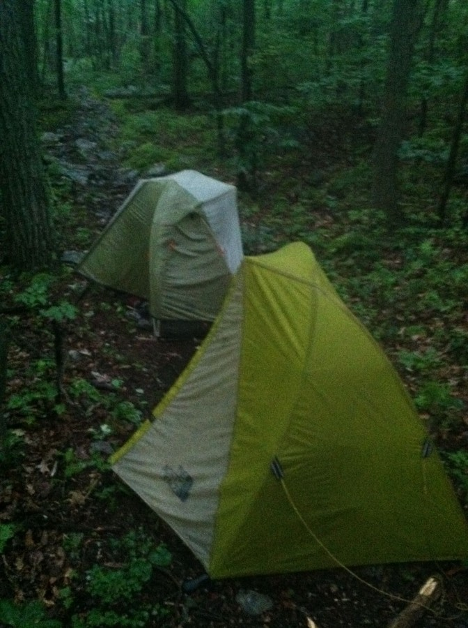 Great tent for long distance and solo!
