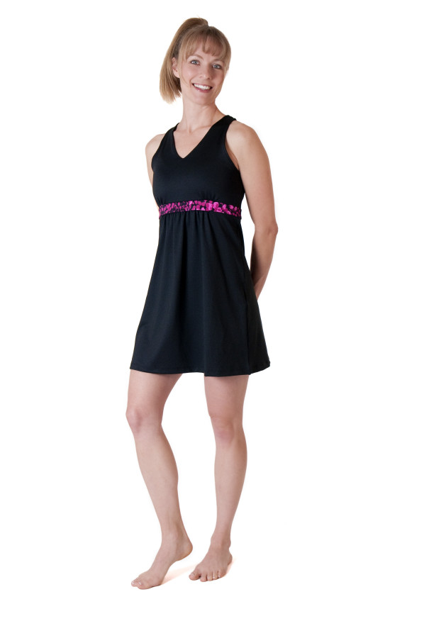 Serendipity Dress - Black/Untamed