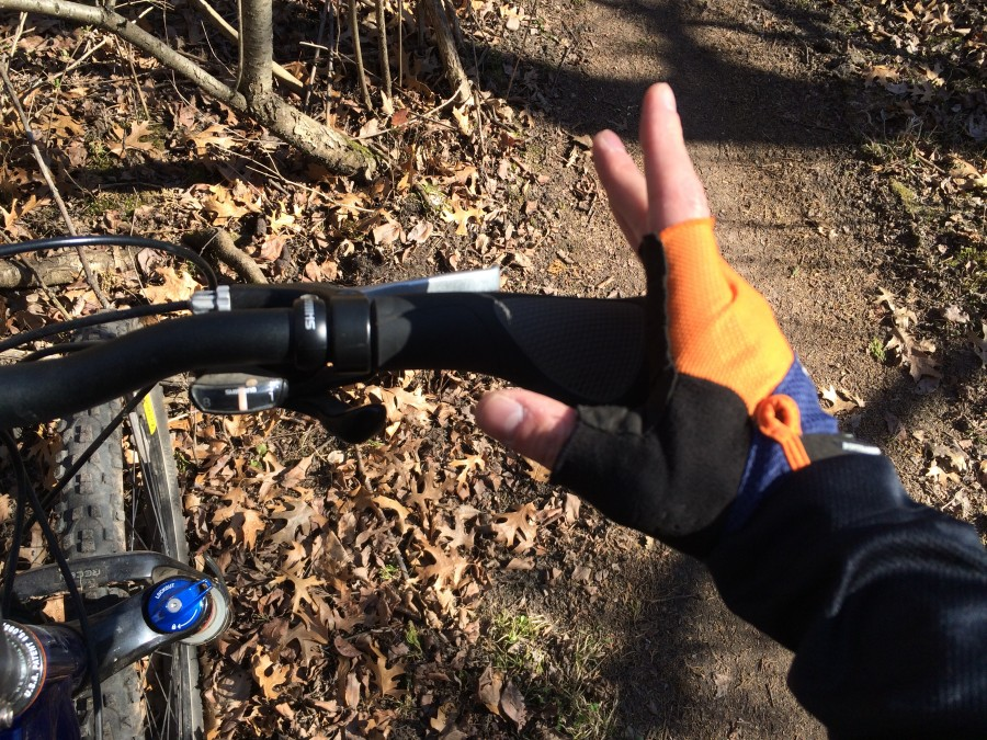 Ergon grips - really improved my riding
