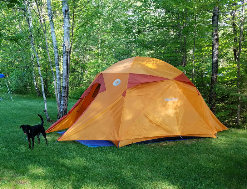 AMAZING tent! & Marmot Halo 6-Person Tent   Steep u0026 Cheap
