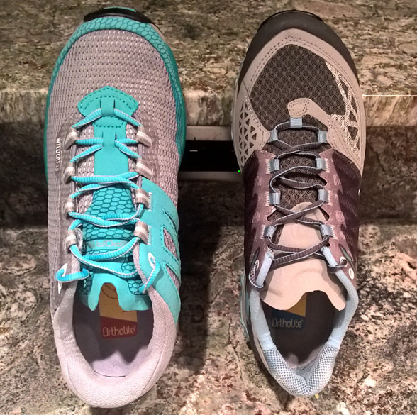 Trail runners for sure.... hikers? TBD :