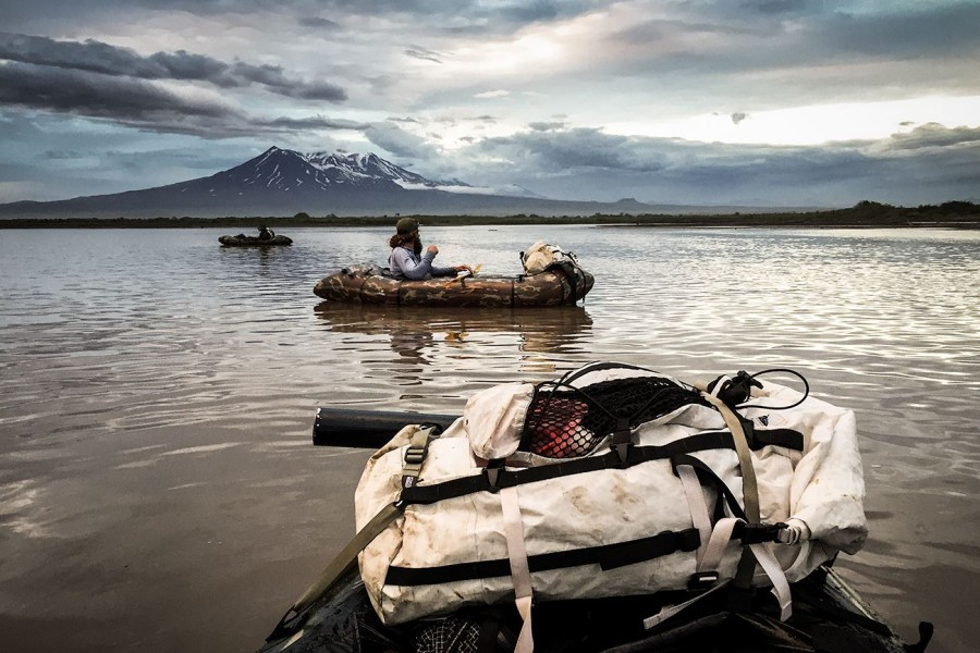 Kamchatka packrafting