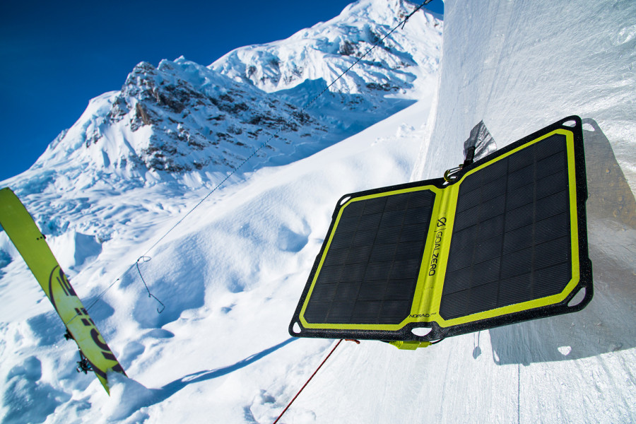 Super lightweight solar panel