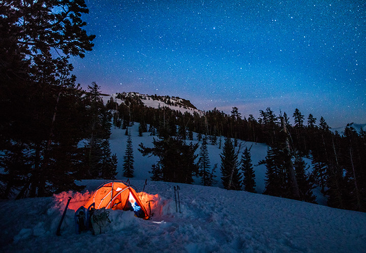 Awesome Winter Tent