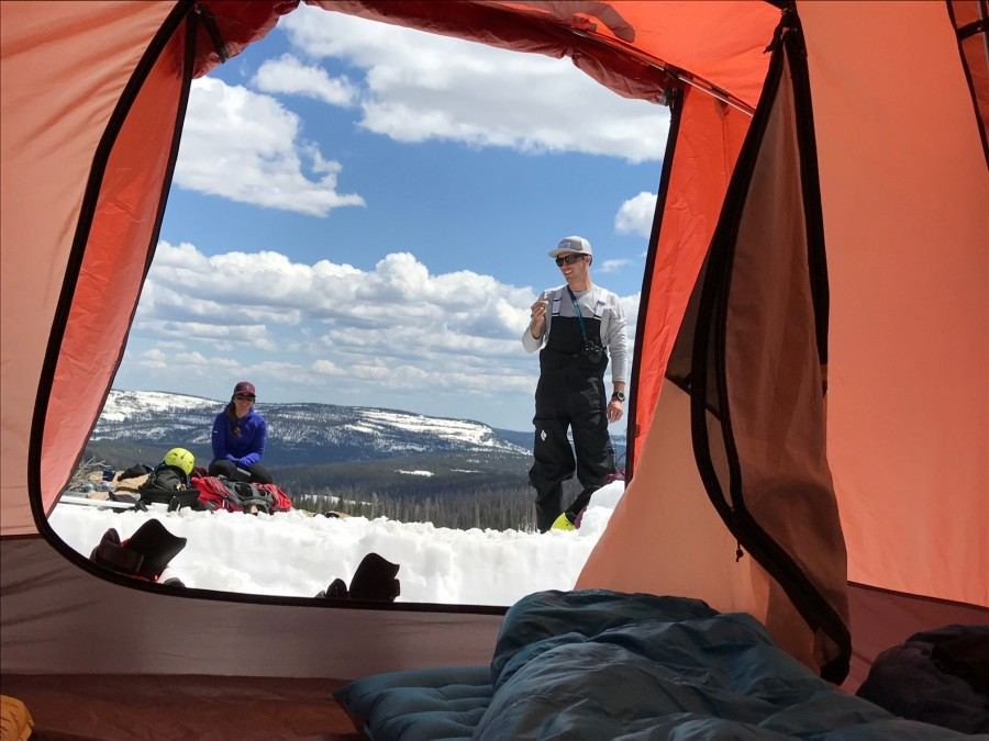 Great Base C& Tent & Big Agnes Flying Diamond 8 Tent: 8-Person 3-Season | Backcountry.com