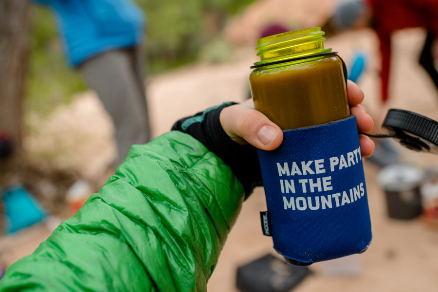 Backpacking  coffee mug