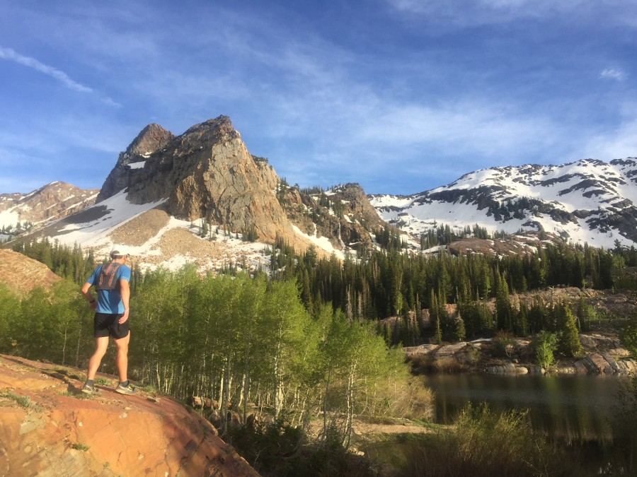 Matt preparing for Western States 100