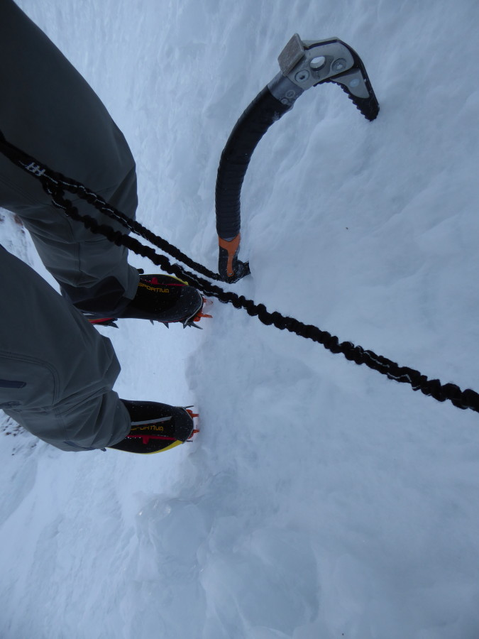 Perfect crampons for snow & ice