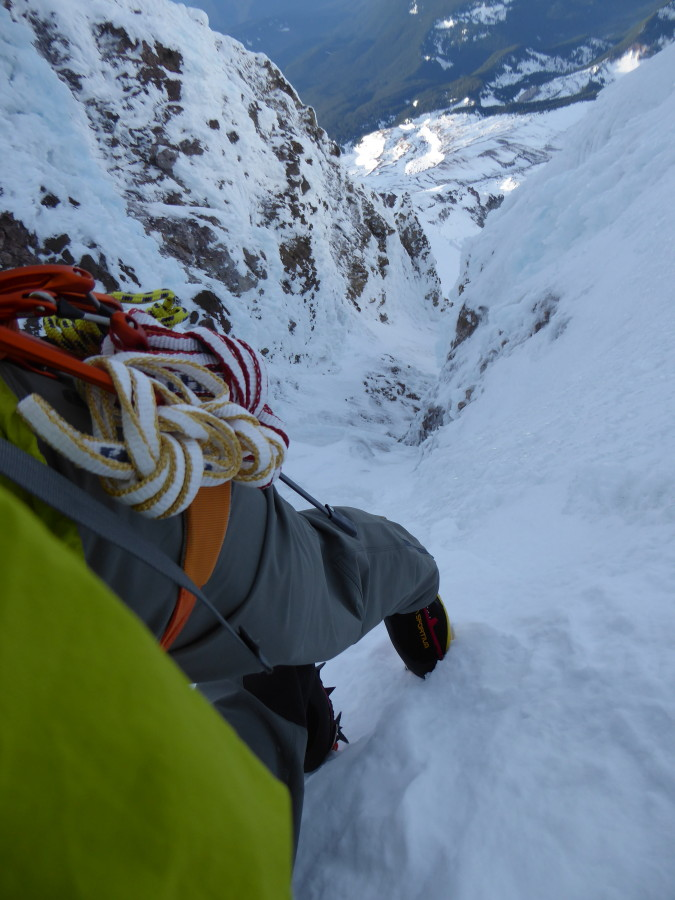 Awesome winter climbing pants