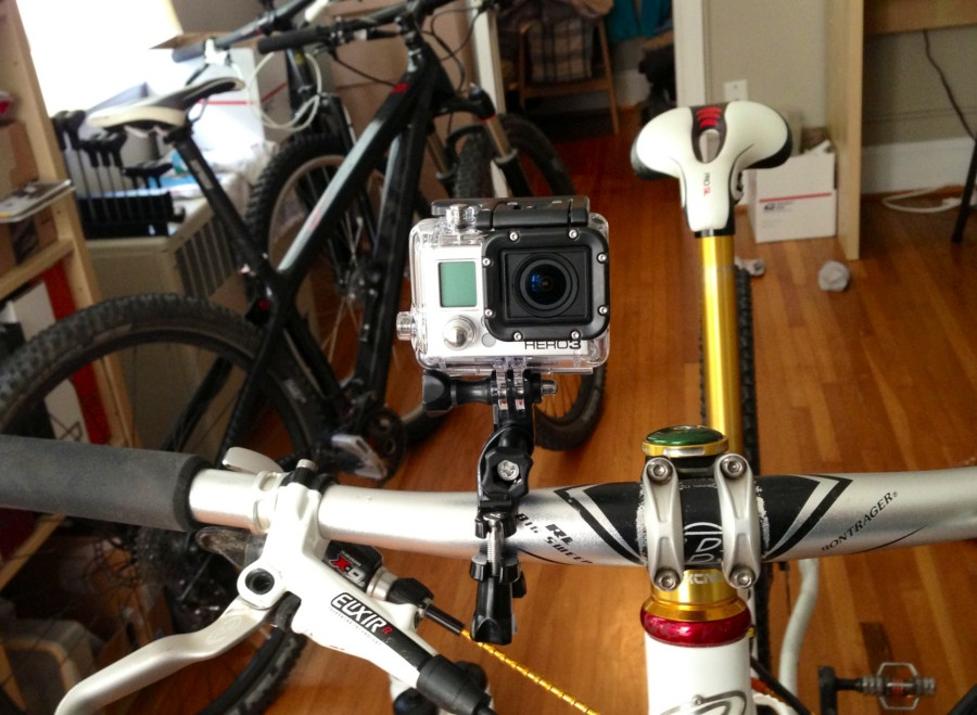 Gopro Bike Mount - handle bar