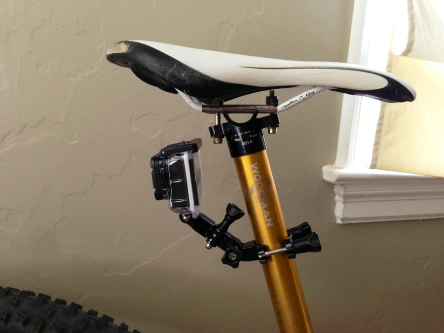 Gopro Bike Mount - Seat post